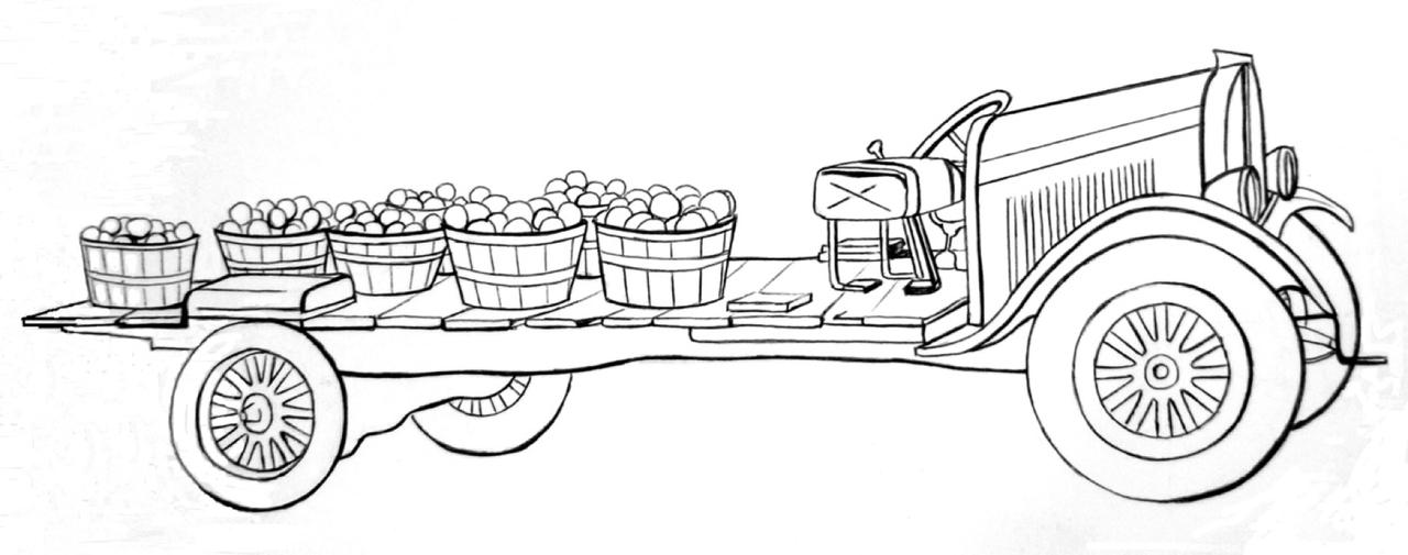 Orchard Hoopie by Sarah Walker