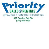 Priority Sales & Rentals logo