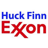 Huck Finn Exxon logo
