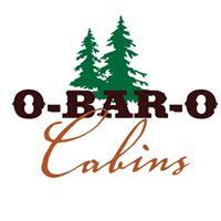 O-Bar-O Cabins logo