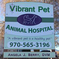 Vibrant Pet Animal Hospital logo