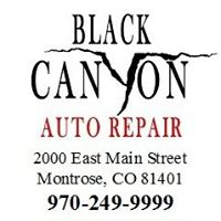 Black Canyon Auto Repair logo