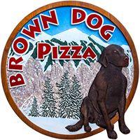 Brown Dog Pizza logo