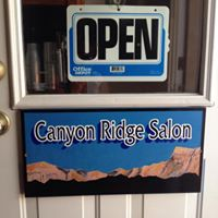 Canyon Ridge Salon logo