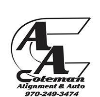 Coleman Alignment & Auto logo