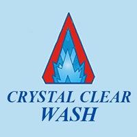 Crystal Clear Wash logo