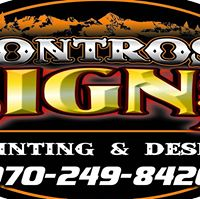 Montrose Signs logo