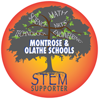 Montrose County School District RE-1J logo