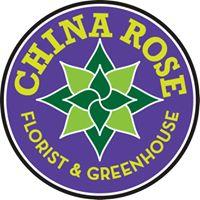 China Rose Florist & Greenhouse logo