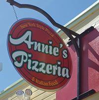 Annie's Pizzeria logo