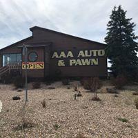 AAA Auto & Pawn logo
