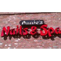 Annie's Nails & Spa logo
