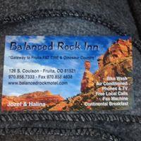 Balanced Rock Motel logo