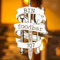 Bin 707 Foodbar logo