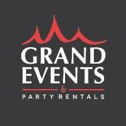 Grand Events & Party Rentals logo