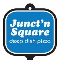 Junct'N Square Pizza logo