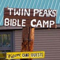 Twin Peaks Bible Camp logo