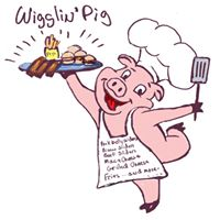 The Wigglin' Pig logo