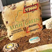 Lush Green Landscapes logo