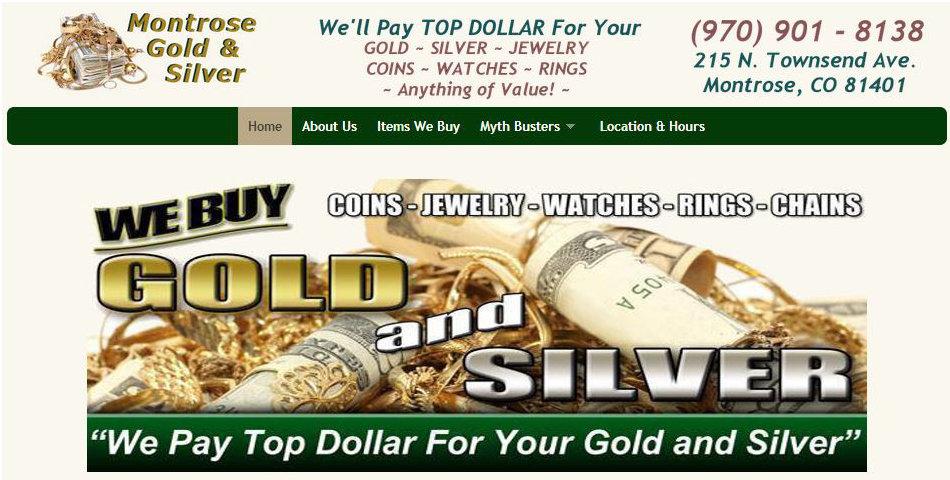 Montrose Gold Silver & Coins logo