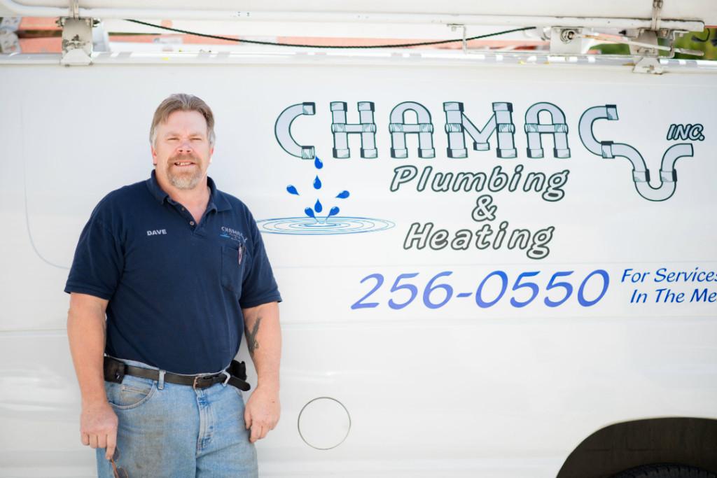 Chamac Inc Plumbing & Heating logo
