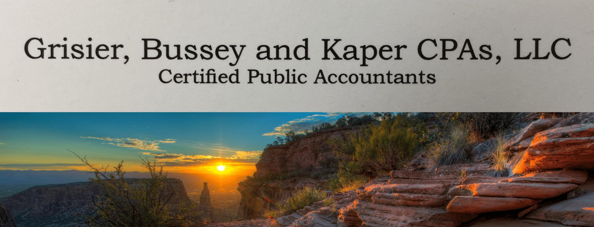 Grisier Bussey & Kaper CPA's LLC logo