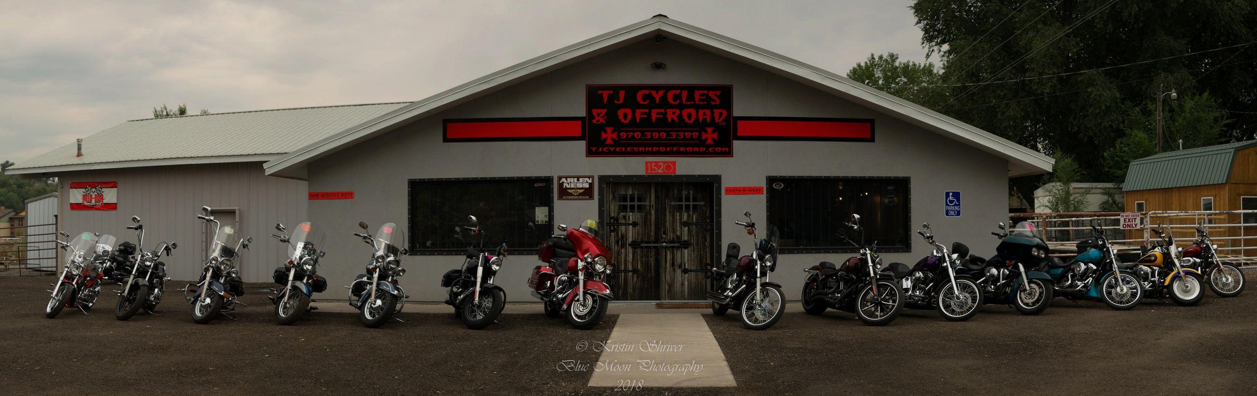 TJ Cycles & Offroad logo