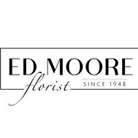 Ed Moore Florist logo