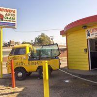 Latino's Auto Glass logo