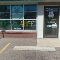 Uptown Fluff Pet Salon logo