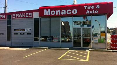 Monaco Tire & Auto logo