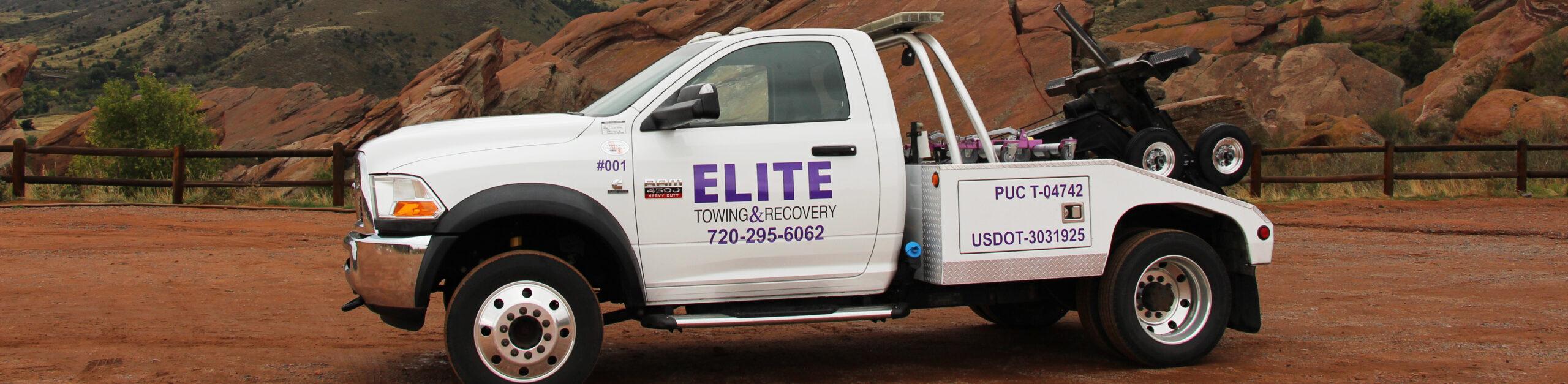 Elite Towing Denver logo