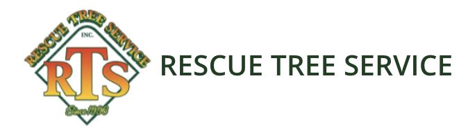 Rescue Tree Service Inc logo