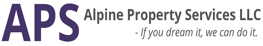 APS Alpine Property Services logo