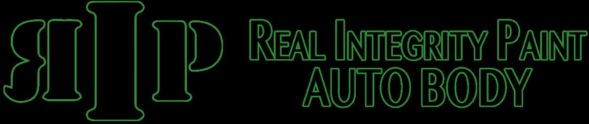 RIP / Real Integrity Paint Auto Body logo