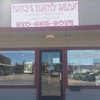 Pinky's Beauty Salon logo