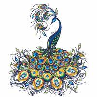 The Posh Peacock logo