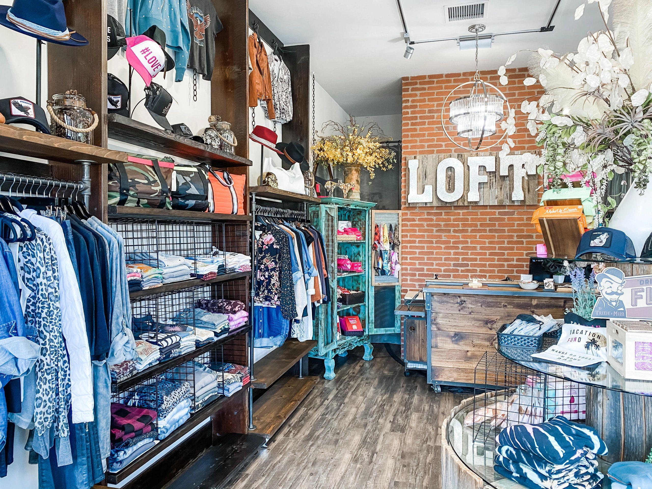 The Loft Boutique logo
