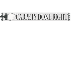 Carpets Done Right logo