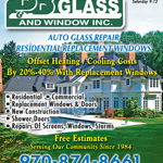 B & B Glass And Window Inc logo