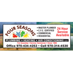 Four Seasons Plumbing Heating & Air Conditioning logo