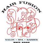 Hair Fusion Salon / Spa & Barber Shop logo