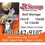 JR Storage logo
