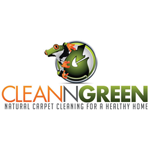 Clean N Green Carpet Cleaning logo
