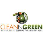 Clean N Green Carpet Cleaning logo