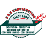 S & S Construction logo