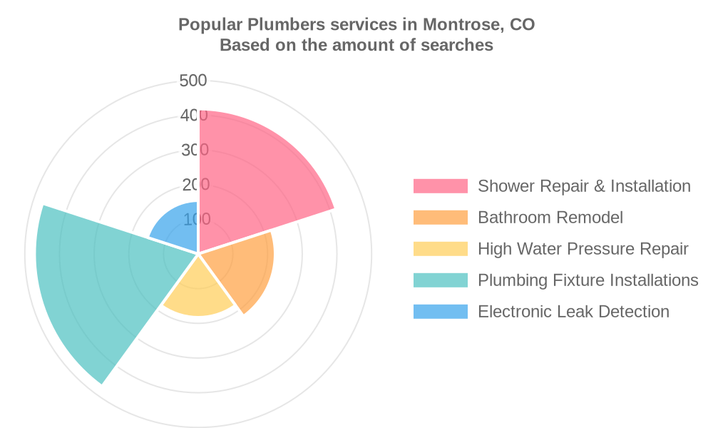Popular services provided by plumbers in Montrose, CO
