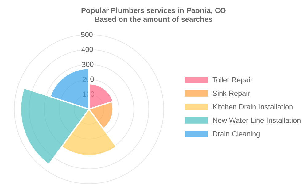 Popular services provided by plumbers in Paonia, CO