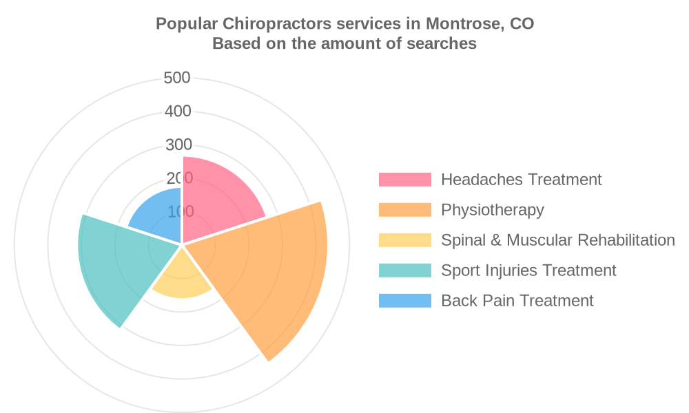 Popular services provided by chiropractors in Montrose, CO