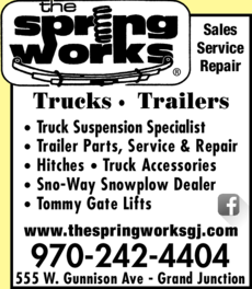 Yellow Pages Ad of Spring Works The
